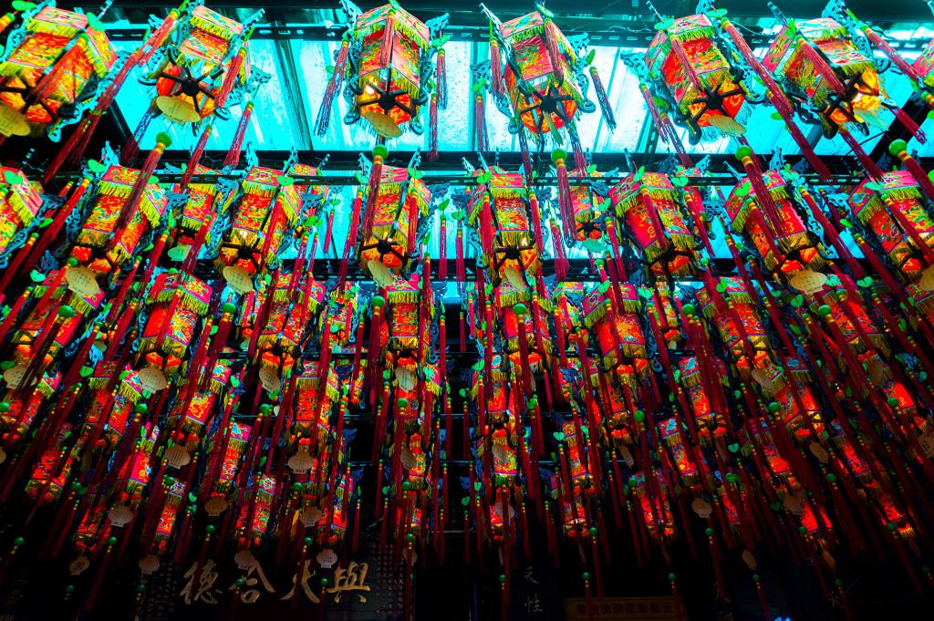 台北市内のお寺