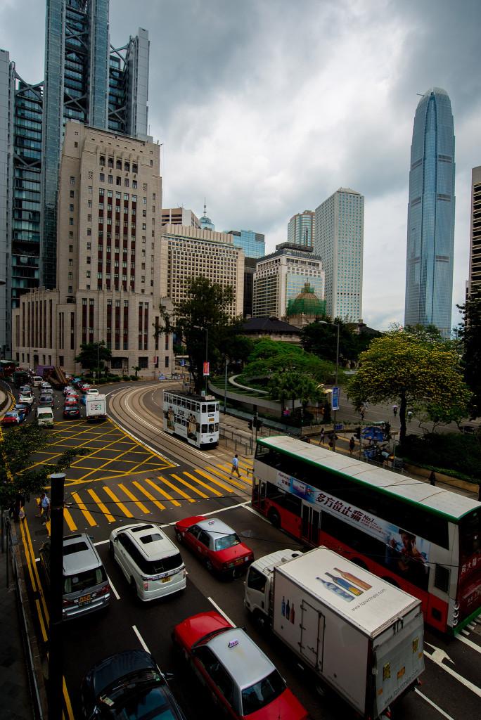 香港の高層ビル群(AF-S 18-35mm f/3.5-4.5G ED作例)