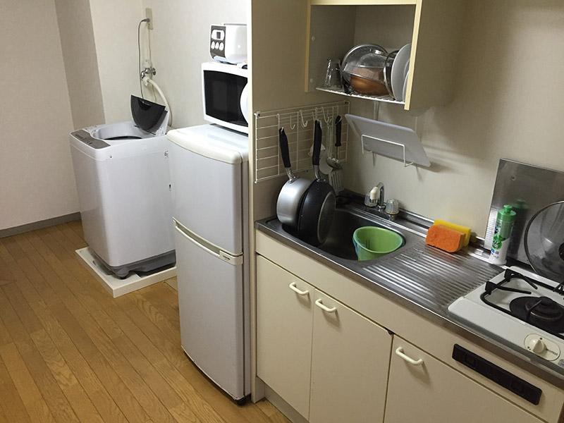 ミニマリストの部屋(キッチン)