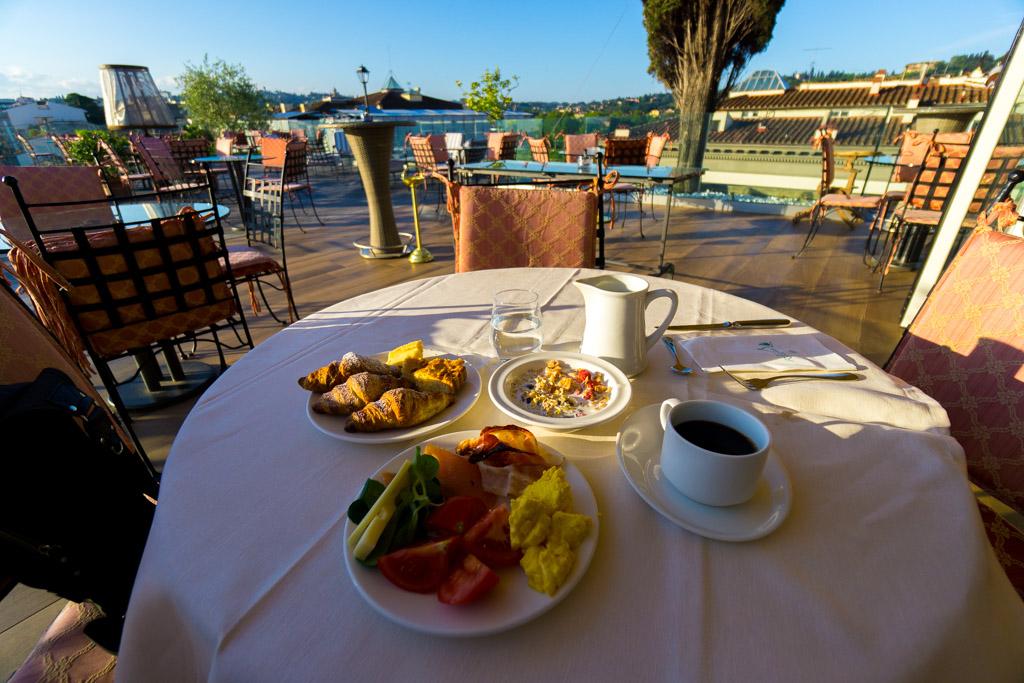 フィレンツェの朝食