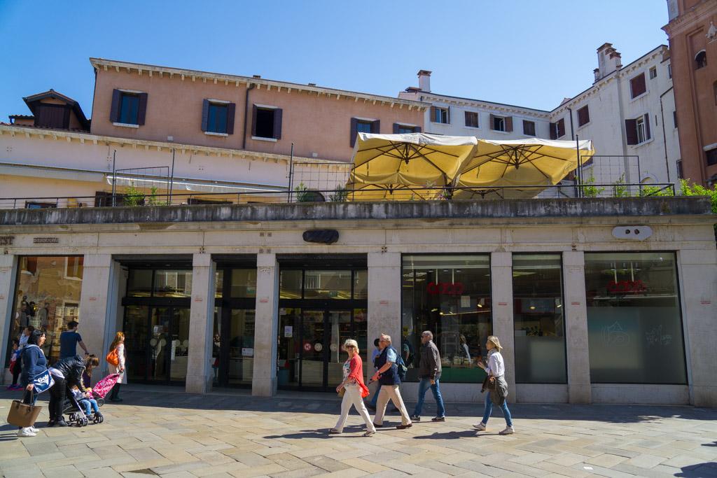 ヴェネチアのスーパーマケット