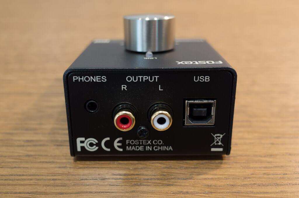 PC100USB-HR2の背面