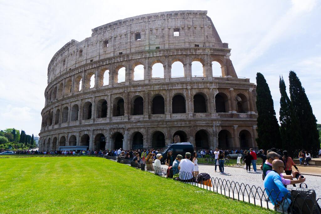 コロッセオの外観