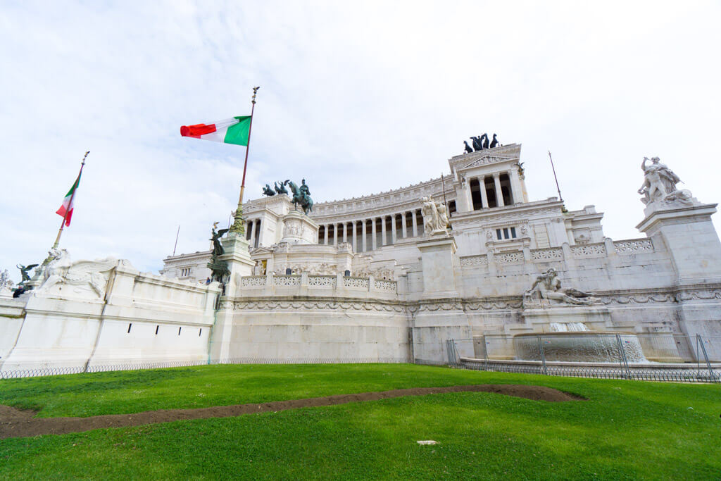 ヴィットリオ エマヌエーレ2世記念堂