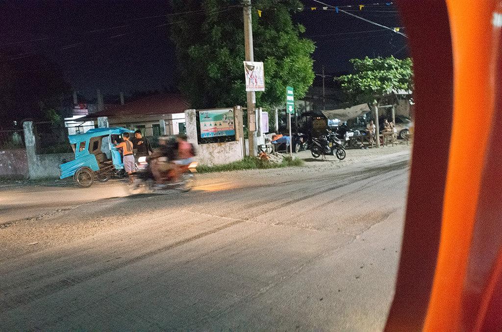 セブのバイクタクシー