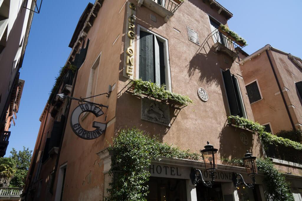 ホテル・ジョルジョーネ(Hotel Giorgione)外観