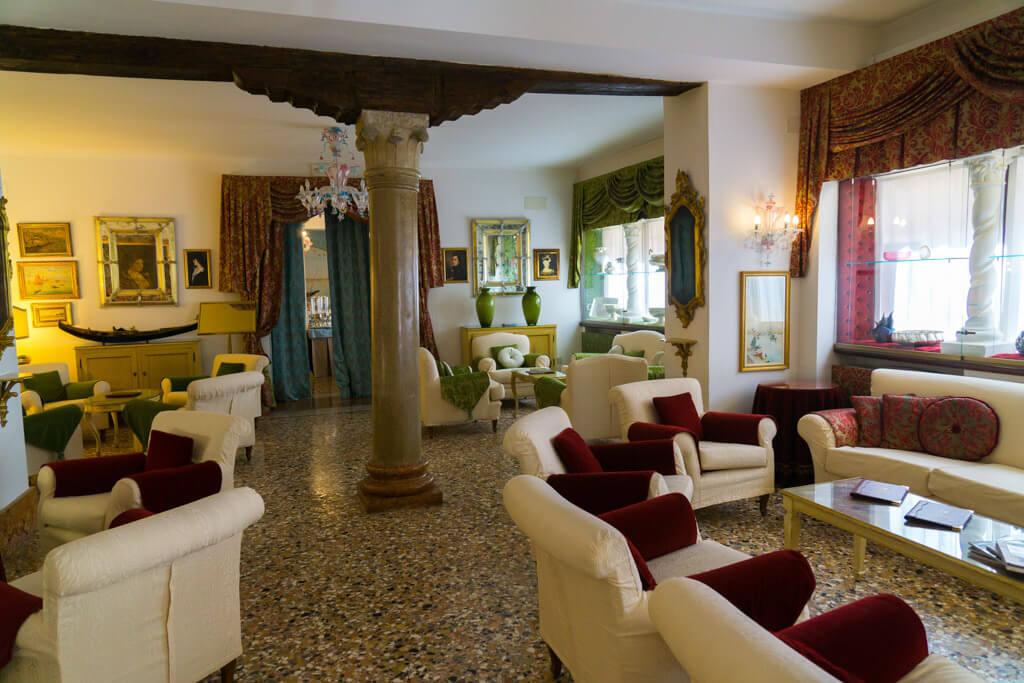 ホテル・ジョルジョーネ(Hotel Giorgione)ラウンジ