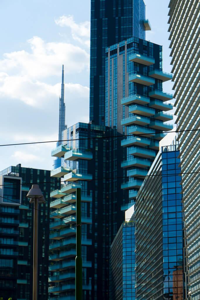 ポルタ・ヌオーヴァの超高層ビル群