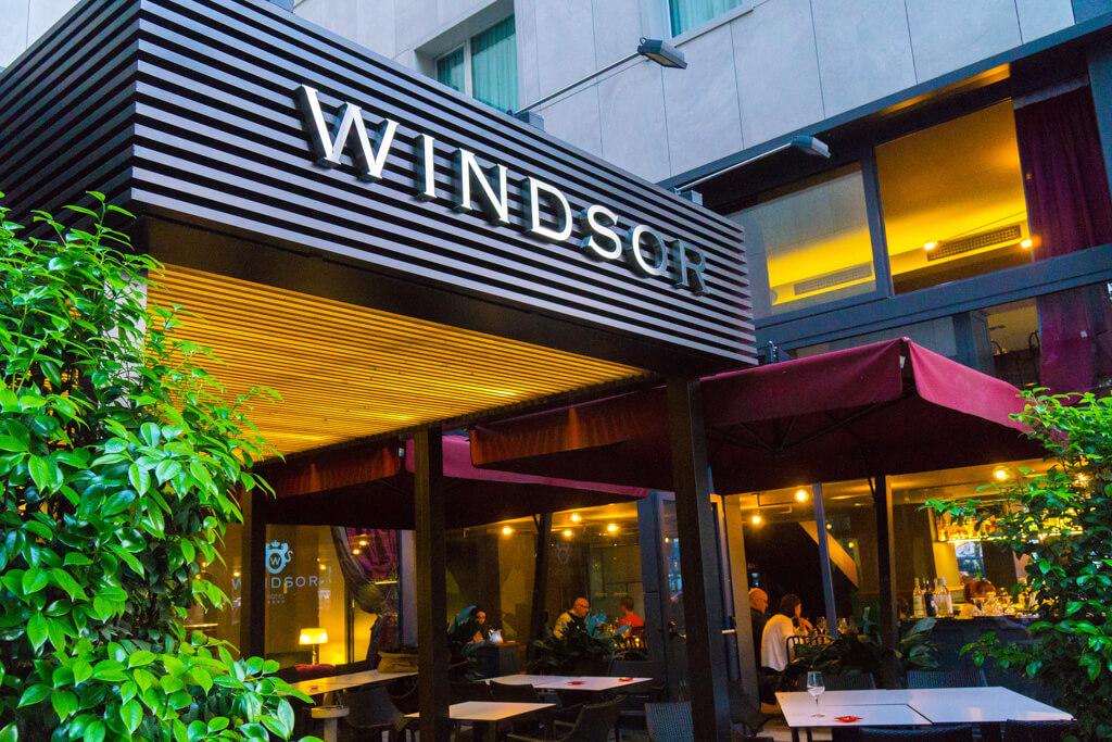 Hotel Windsor Milano(ホテル ウィンザー ミラノ)の外観
