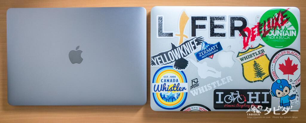 新旧MacBookの比較