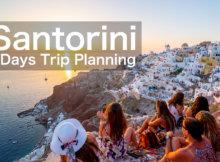 サントリーニ島2泊の観光プラン