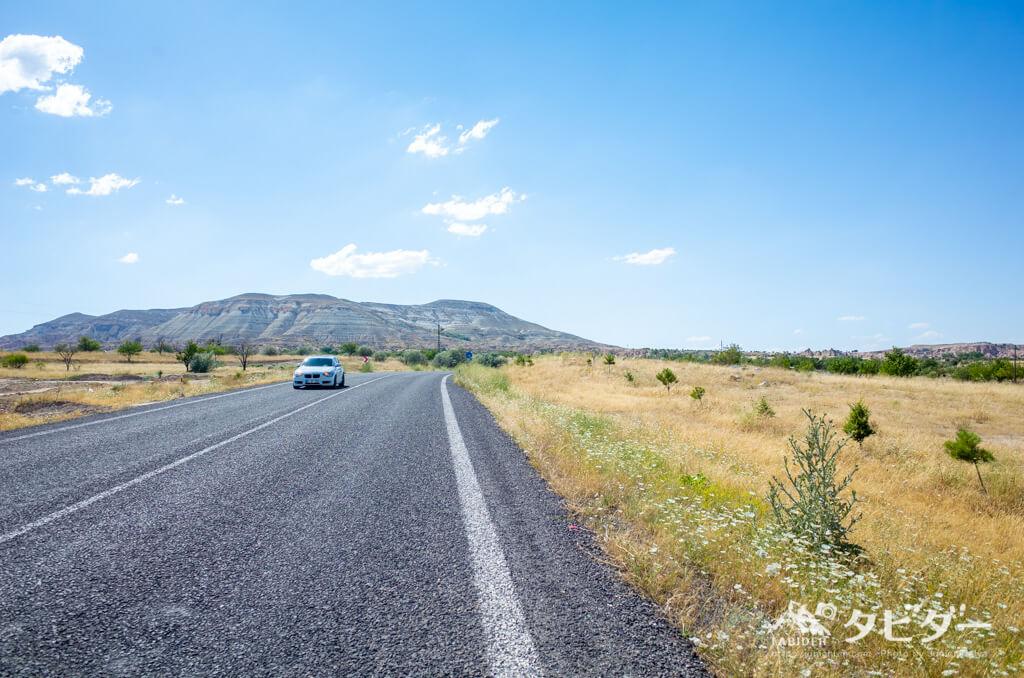 カッパドキアの道路