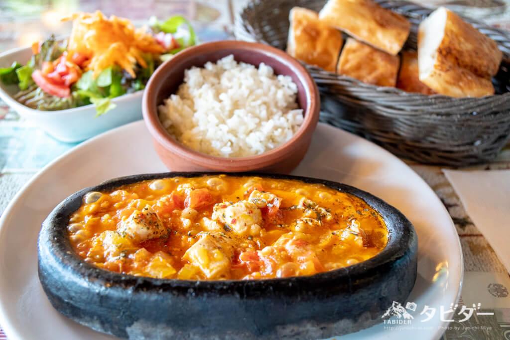 トルコ料理 トマトと鶏肉料理