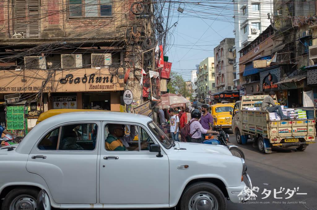 コルカタの交通状況