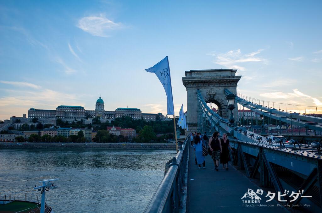 ブダペストの橋(セーチェーニ公のくさり橋)