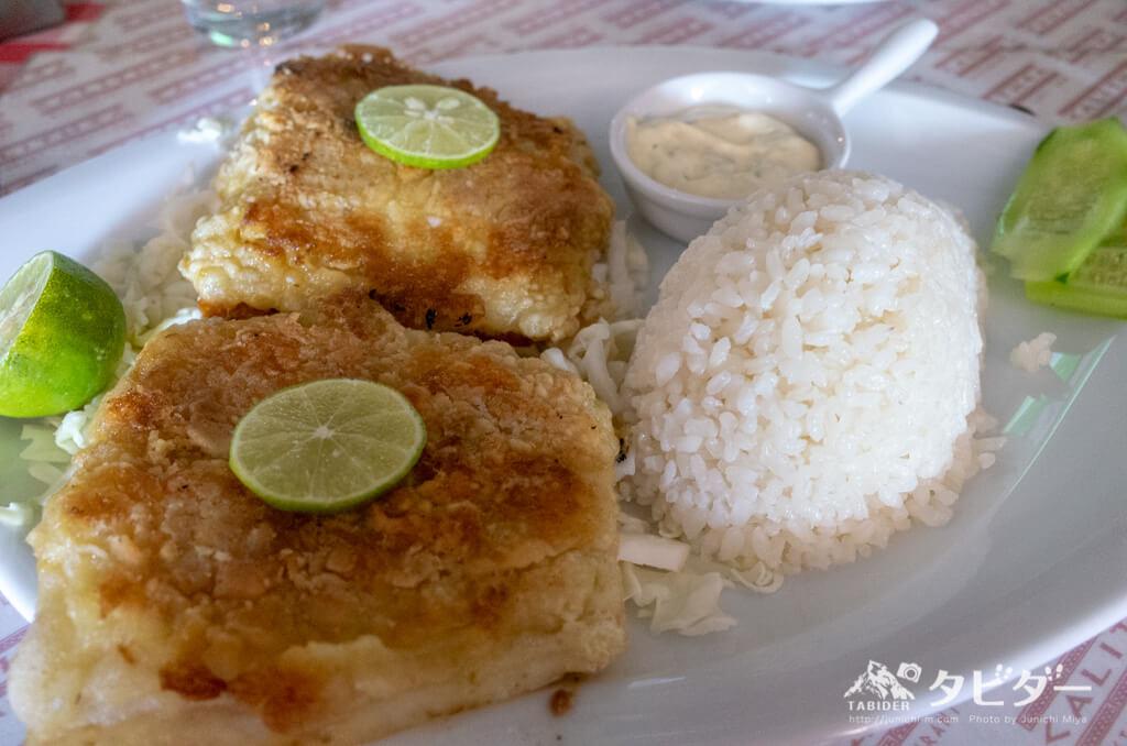 白身魚の料理