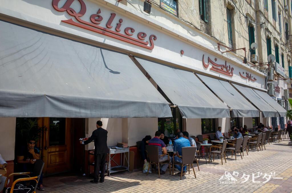 レストラン「Delices」の外観