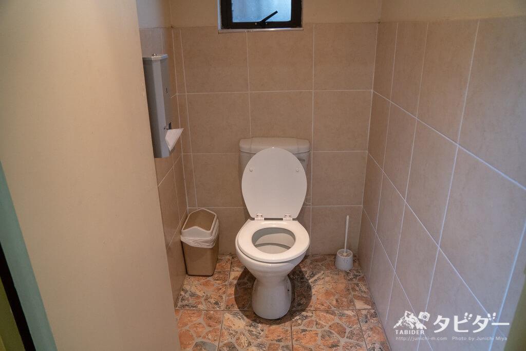 チョベサファリロッジのトイレ