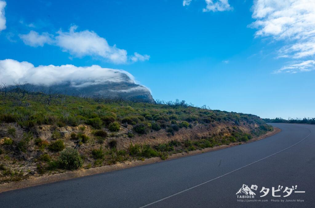 喜望峰自然保護区内の道路