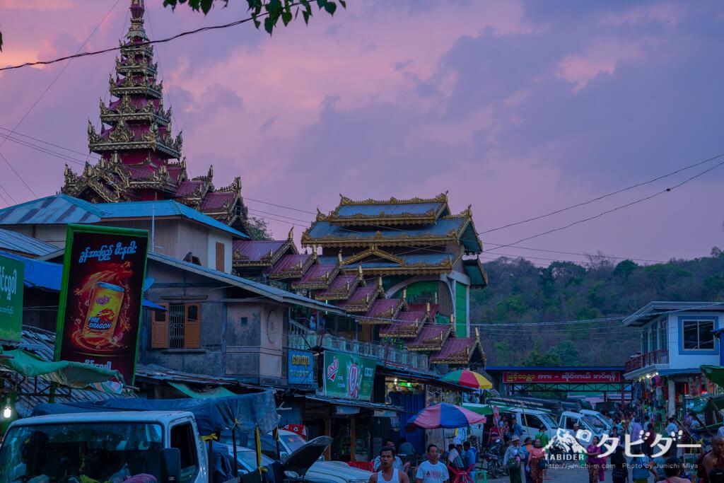 ミャンマー・バガンのポッパ山ツアー