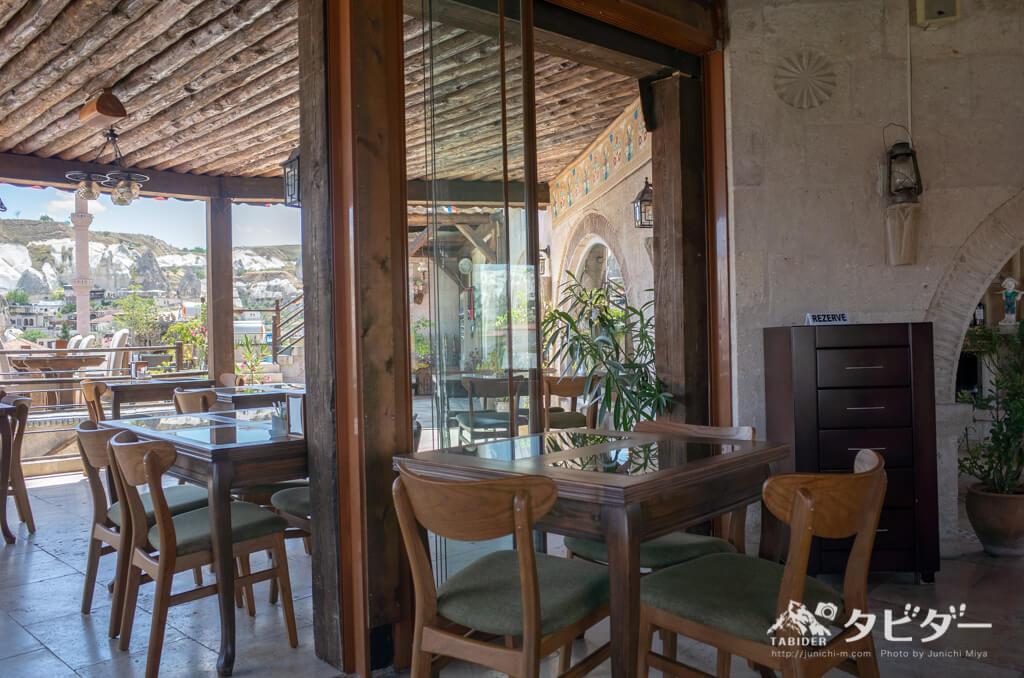 トルコ(カッパドキア)のカフェ