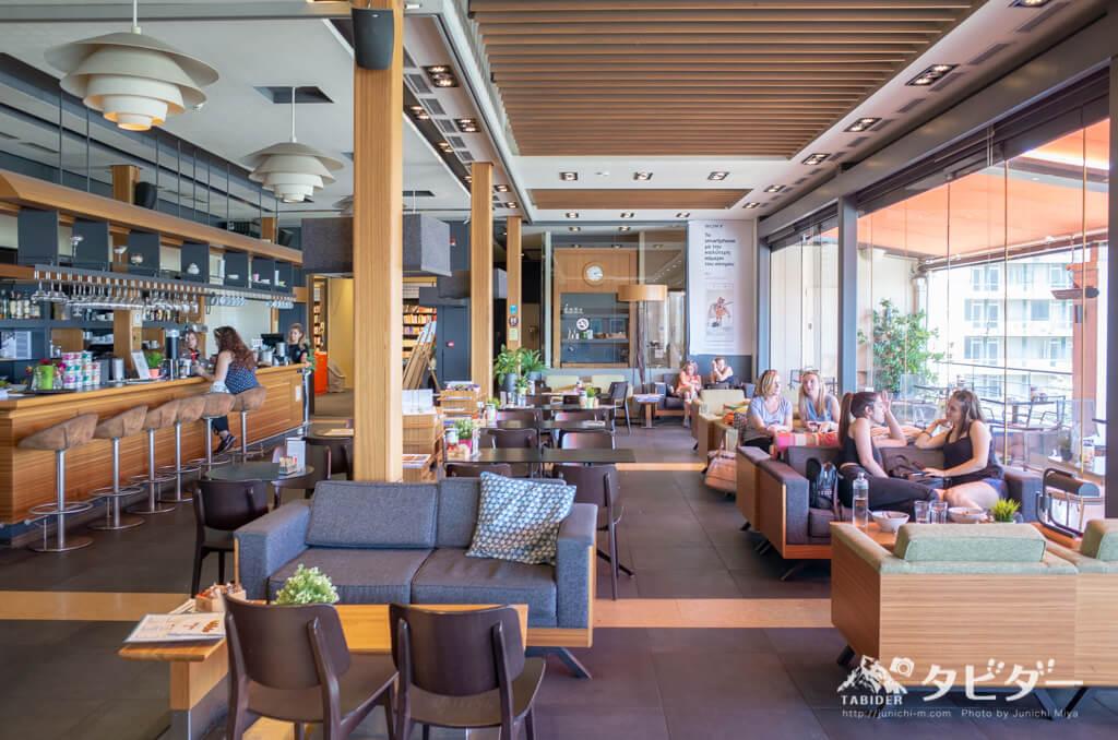 ギリシャ(アテネ)のカフェ