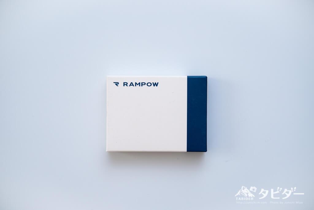 Rampow USBアダプタのパッケージ