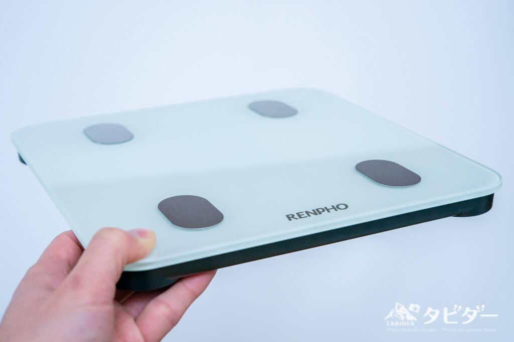 RENPHO体重計のサイズ感