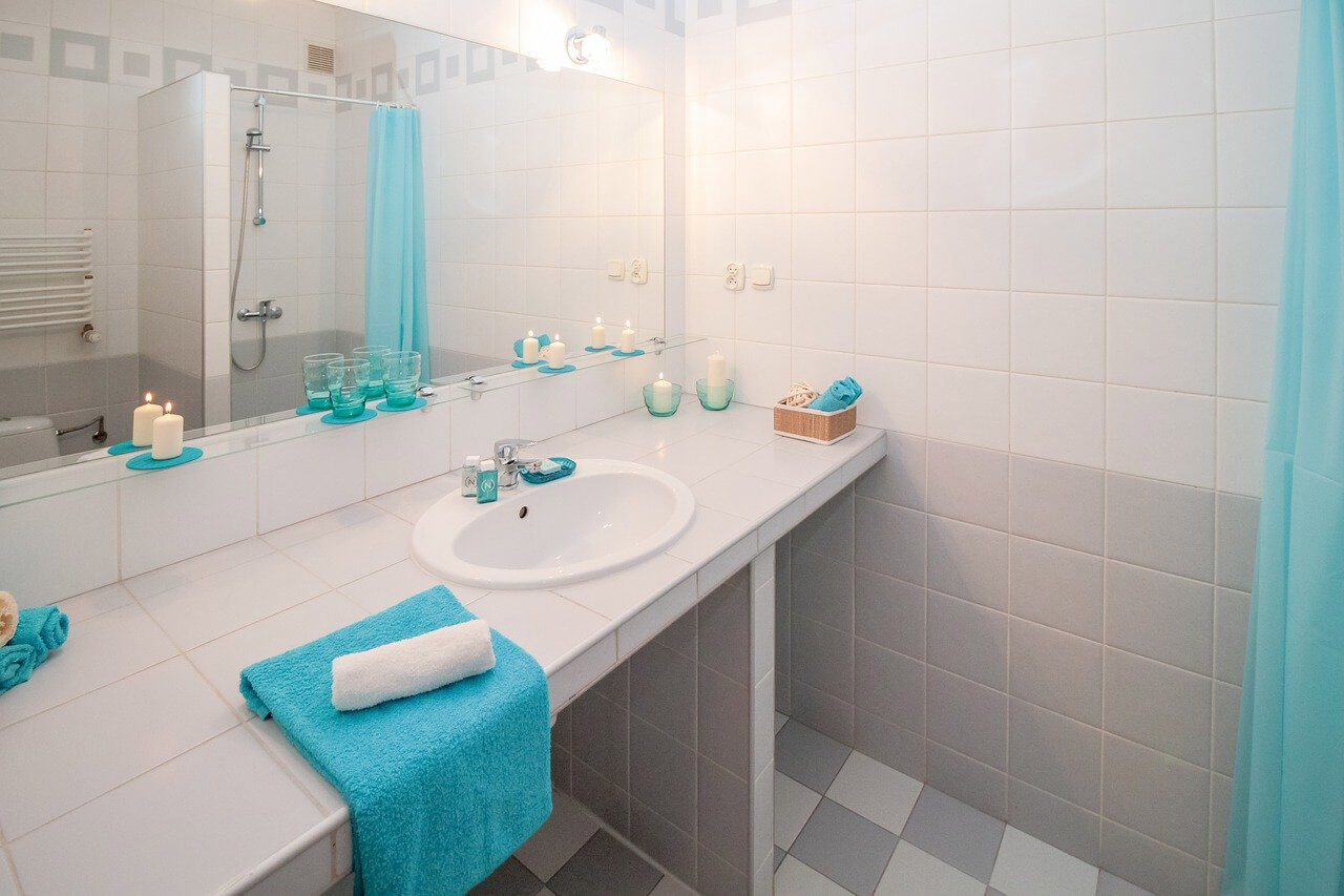 シャワー&洗面室
