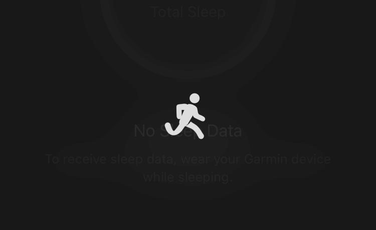 Garmin Connectの読み込みが遅い