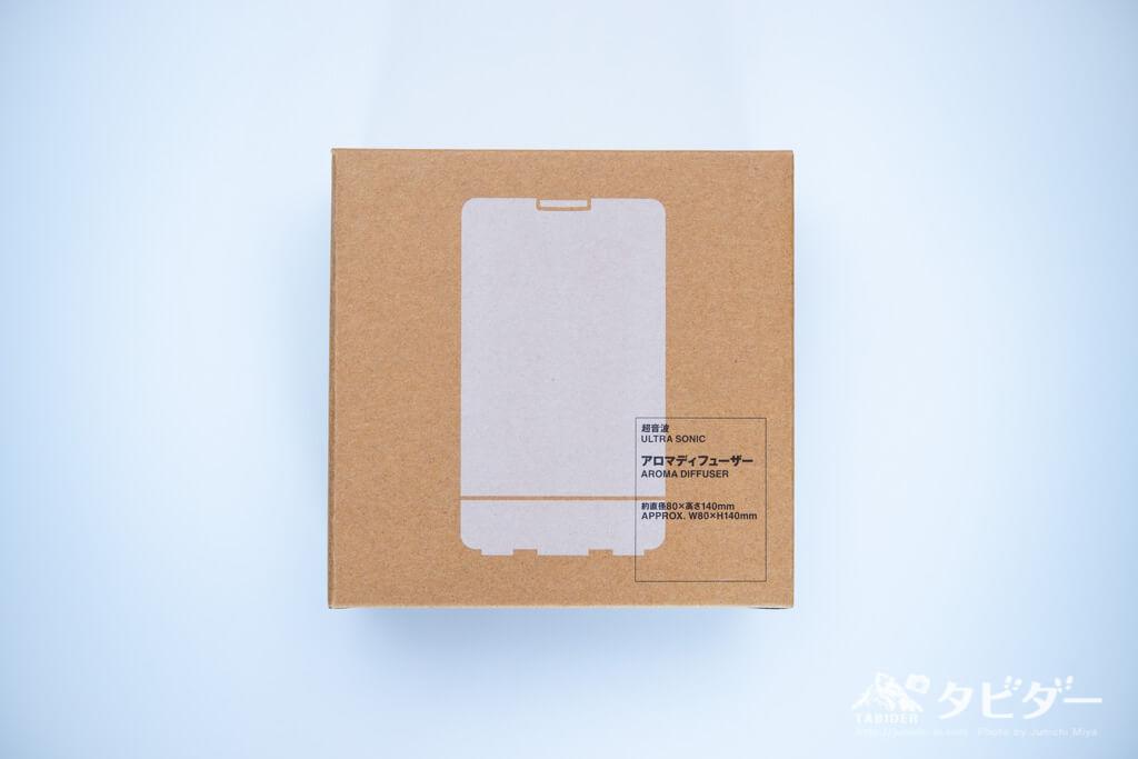 無印良品のアロマディフューザーの箱