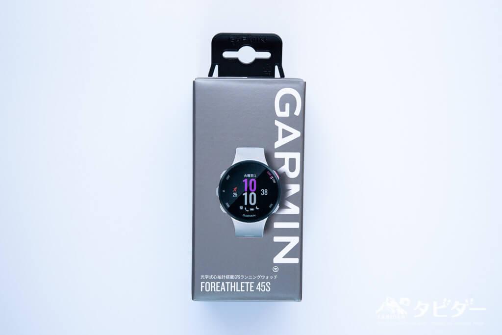 ガーミン45sのパッケージ
