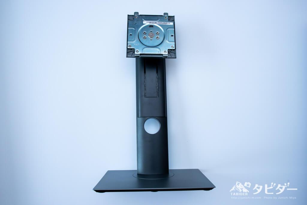 デルの4K液晶モニター(27インチ)U2720QMのスタンド