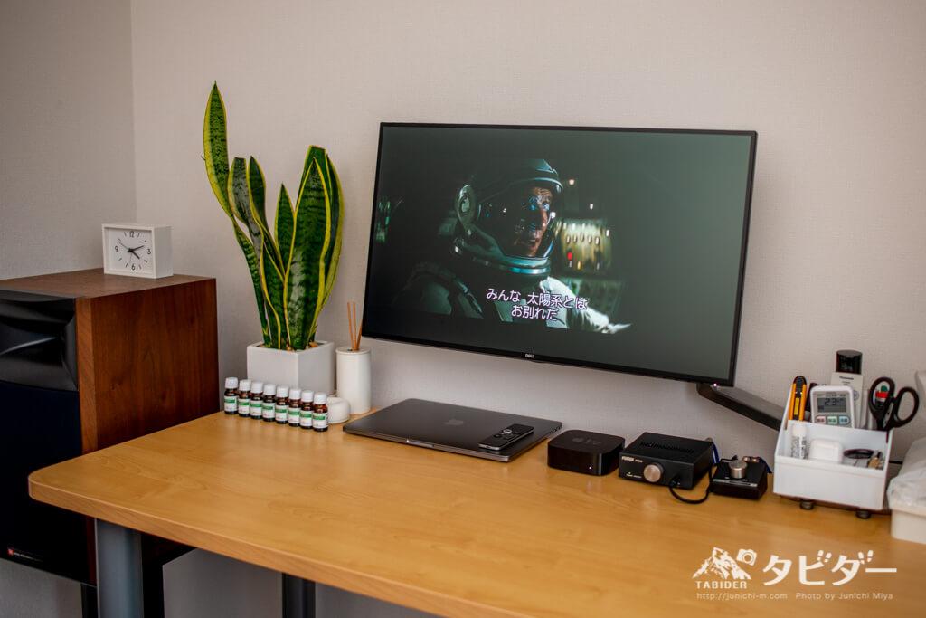 AppleTVと大型ディスプレイで見るインターステラー