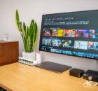 U2720QMにAppleTV 4Kを接続してAmazonプライムビデオを表示