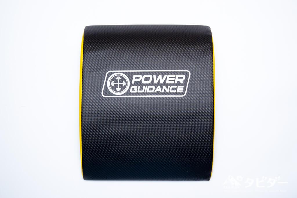 腹筋マット(POWER GUIDANCE)の正面